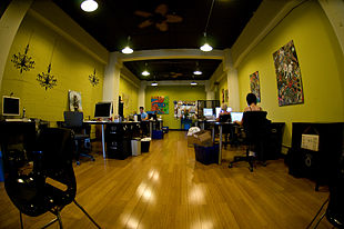 Coworking (collaboratoire) à San Francisco