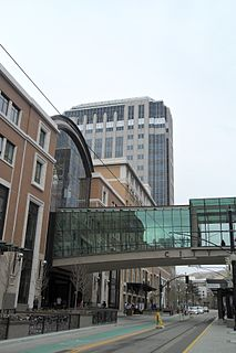 City Creek Center Shopping mall in Salt Lake City, Utah, U.S.