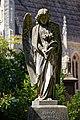 City of London Cemetery and Crematorium angel sculpture grave monument 3.jpg