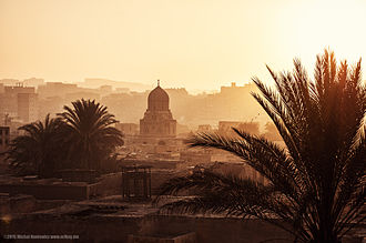 City of the Dead (Cairo) - City of the Dead at dawn