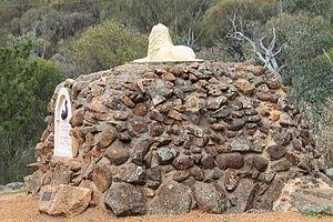 Clackline, Western Australia - The Clackline School lion monument