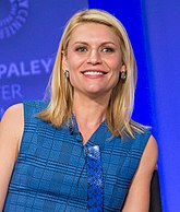 Claire Danes won the award for her portrayal of Temple Grandin in the television film about her life (2010). Claire Danes.jpg