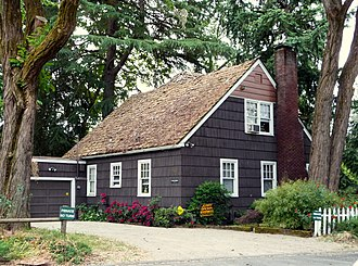National Register of Historic Places listings in Josephine County, Oregon - Image: Clark Mc Connell House Grants Pass Oregon