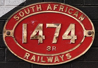 South African Class 3 4-8-2 - Image: Class 3R 1474 (4 8 2)