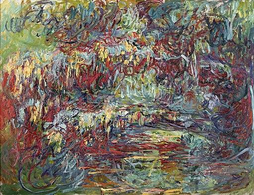 Japanese Bridge Paintings by Claude Monet