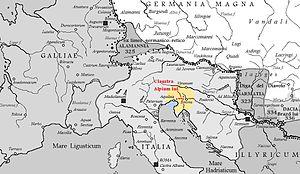 Claustra Alpium Iuliarum - Image: Claustra Alpium Iuliarum
