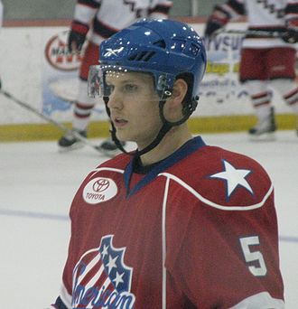 Clay Wilson - Wilson as a member of the Rochester Americans