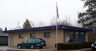 Cleveland, Manitowoc County, Wisconsin - Image: Cleveland Wisconsin Post Office