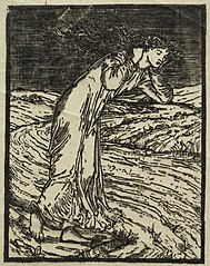 The Legend of Cupid and Psyche:  Woman Weeping Beside a Brook