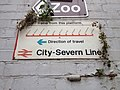 Clifton Down railway station sign.jpg