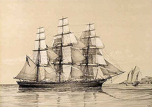 Clipper ship N.B. Palmer