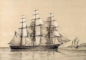 N.B. Palmer (clipper) - Clipper ship N.B. Palmer