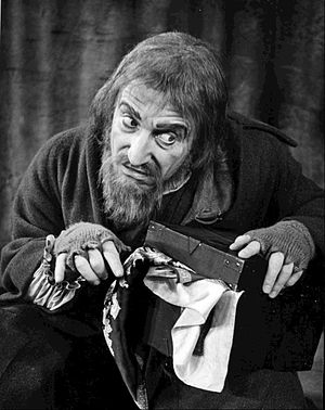 Clive Revill - Revill as Fagin from the 1963 Broadway production of Oliver!