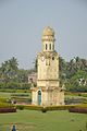 Clock Tower - Hazarduari Complex - Nizamat Fort Campus - Murshidabad 2017-03-28 6376.JPG