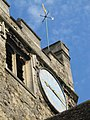 Clock above the church - geograph.org.uk - 1383279.jpg