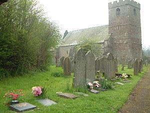 Gilbert de Lacy - Image: Clodock Church geograph.org.uk 88190