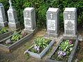 Cmentarz prawosławny w Wilnie groby duchowieństwa.JPG