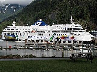 MV <i>Coastal Renaissance</i> Canadian ferry operated by BC Ferries