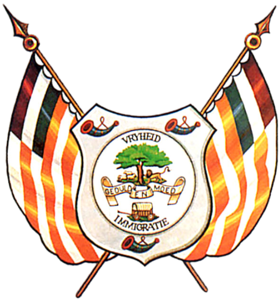 File:Coat of Arms of the Orange Free State.png