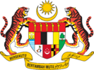 Coat of arms of Malaysia (1963-1965).