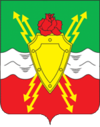 Coat of arms of Molodyozhnyi.png