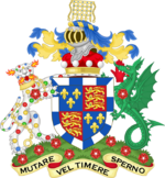 Coat of arms of the Barons Raglan.png