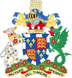 Baron Raglan - Arms of the Baron Raglan