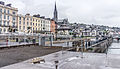 Cobh (pronounced Cove) dominates Cork Harbour one of the largest natural harbours in the world (7359308640).jpg