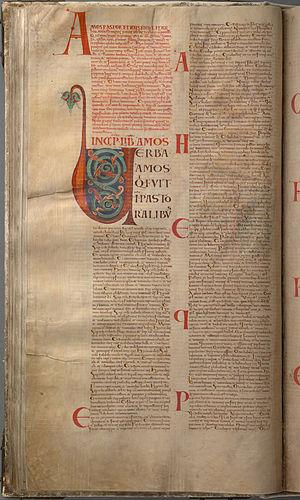 Amos 2 - Image: Codex Gigas 110 Minor Prophets