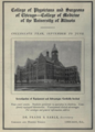 """College of Physicians & Surgeons of Chicago; College of Medicine of the University of Illinois (""""American medical directory"""", 1906 advert).png"""