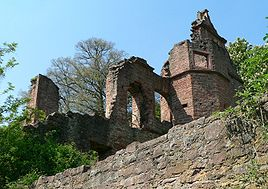 Ruins of the Collenburg.
