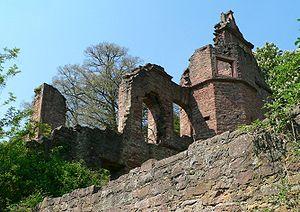 Collenberg - Ruins of the Collenburg.
