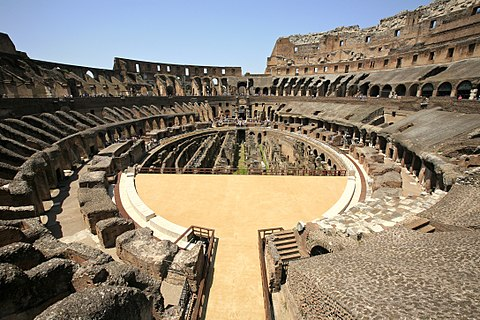 Inside Colosseum and tips