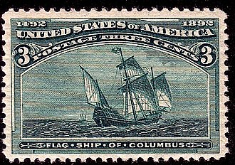 Columbian Issue - The 3¢ Columbian