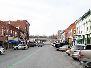 Columbus Junction, Iowa - Downtown Columbus Junction
