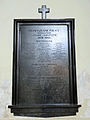 Commemorative plaque of the Saint Francis church in Warsaw - 04.jpg