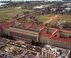 Vista aérea del edificio de comercio desde la calle 14.jpg