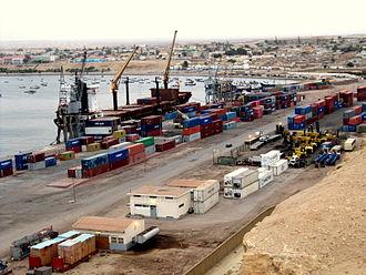 Namibe - Port of Namibe