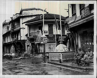Communal violence - Arson and communal violence of 1946 between Muslims and Jains, in Ahmedabad, Gujarat.