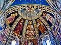 Como Basilica di Sant'Abbondio Interno Coro Affreschi 3.jpg