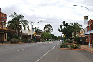 Condobolin Town in New South Wales, Australia