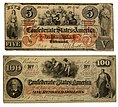 Confederate 5 and 100 Dollars.jpg