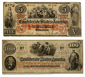 Confederate States of America currency