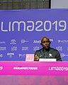 Conferencia de prensa de medallistas Carl Lewis y Leroy Burrel - 48468224087.jpg