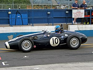 Connaught Engineering - Image: Connaught Type A Donington 2007