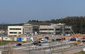 Construction on the new medical clinic at Spangdahlem Air Base.jpg