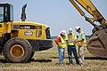 Construction starts on Joplin temporary housing (5906653980).jpg
