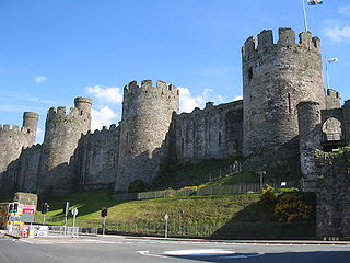 Grade I listed building in Conwy. Castle in Conwy, north Wales