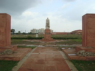 Coronation Park, Delhi - One of the statues in the Coronation Park