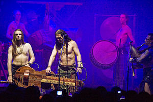 Corvus Corax (band) - Performance in Warsaw in September 2011